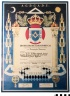 C77-95; Certificate, Portugal, Honorary Grand Officer