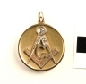 J64-334 Locket pendant, Master, Continental Lodge No. 287, NY