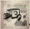 A64-164; Drawing, by Walter Edward Blythe, humorous