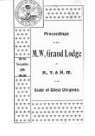 1899 - Proceedings of the Grand Lodge, A.F. & A.M., of West Virginia