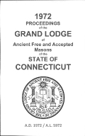1972 Proceedings of the Grand Lodge of Ancient Free and Accepted Masons of the state of Connecticut