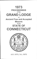 1973 Proceedings of the Grand Lodge of Ancient Free and Accepted Masons of the state of Connecticut