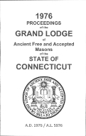 1976 Proceedings of the Grand Lodge of Ancient Free and Accepted Masons of the state of Connecticut