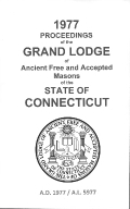 1977 Proceedings of the Grand Lodge of Ancient Free and Accepted Masons of the state of Connecticut
