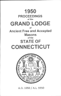 1950 Proceedings of the Grand Lodge of Ancient Free and Accepted Masons of the state of Connecticut