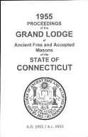 1955 Proceedings of the Grand Lodge of Ancient Free and Accepted Masons of the state of Connecticut