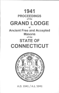 1941 Proceedings of the Grand Lodge of Ancient Free and Accepted Masons of the state of Connecticut