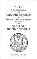 1942 Proceedings of the Grand Lodge of Ancient Free and Accepted Masons of the state of Connecticut