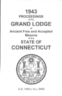 1943 Proceedings of the Grand Lodge of Ancient Free and Accepted Masons of the state of Connecticut