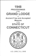 1948 Proceedings of the Grand Lodge of Ancient Free and Accepted Masons of the state of Connecticut