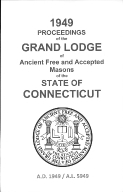 1949 Proceedings of the Grand Lodge of Ancient Free and Accepted Masons of the state of Connecticut
