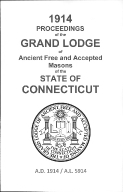1914 Proceedings of the Grand Lodge of Ancient Free and Accepted Masons of the state of Connecticut