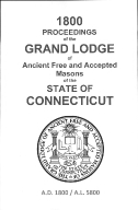 1800 Proceedings of the Grand Lodge of Ancient Free and Accepted Masons of the state of Connecticut