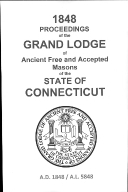 1848 Proceedings of the Grand Lodge of Ancient Free and Accepted Masons of the state of Connecticut