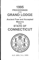 1995 Proceedings of the Grand Lodge of Ancient Free and Accepted Masons of the state of Connecticut