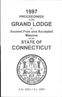 1997 Proceedings of the Grand Lodge of Ancient Free and Accepted Masons of the state of Connecticut