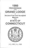 1980 Proceedings of the Grand Lodge of Ancient Free and Accepted Masons of the state of Connecticut