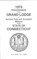 1979 Proceedings of the Grand Lodge of Ancient Free and Accepted Masons of the state of Connecticut