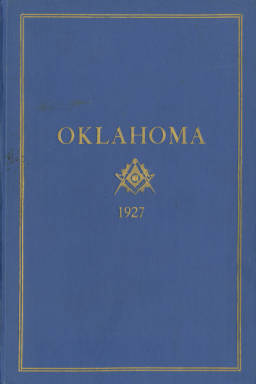 1927 - Proceedings of the Grand Lodge of the State of Oklahoma - Nineteenth Annual Grand Communication