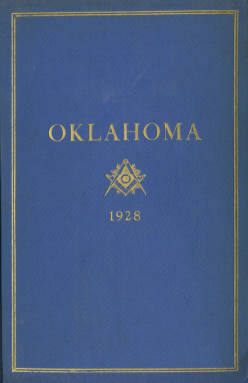 1928 - Proceedings of the Grand Lodge of the State of Oklahoma - Twentieth Annual Grand Communication
