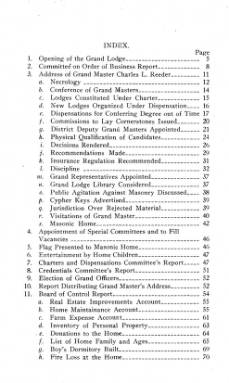 1914 - Proceedings of the Grand Lodge of the State of Oklahoma - Sixth Annual Grand Communication
