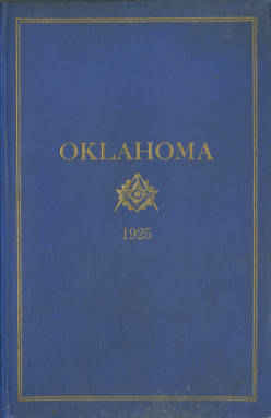 1925 - Proceedings of the Grand Lodge of the State of Oklahoma - Seventeenth Annual Grand Communication