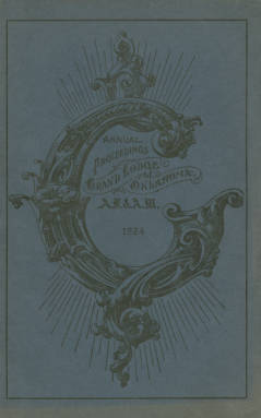 1924 - Proceedings of the Grand Lodge of the State of Oklahoma - Sixteenth Annual Grand Communication