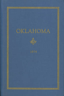 1974 - Proceedings of the Grand Lodge of the State of Oklahoma - Sixty-sixth Annual Grand Communication