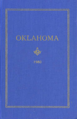 1980 - Proceedings of the Grand Lodge of the State of Oklahoma - Seventy-second Annual Grand Communication