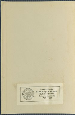 1815-1825 - Proceedings of the Grand Lodge of the Commonwealth of Massachusetts