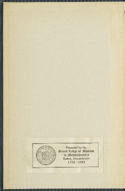 1845-1855 - Proceedings of the Grand Lodge of the Commonwealth of Massachusetts