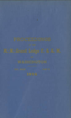 1956 - Proceedings of the Grand Lodge of Washington - Ninety-ninth Annual Grand Communication