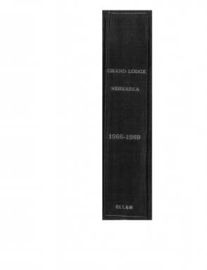 1967 - Grand Lodge, A.F. & A.M., of Nebraska Annual Proceedings