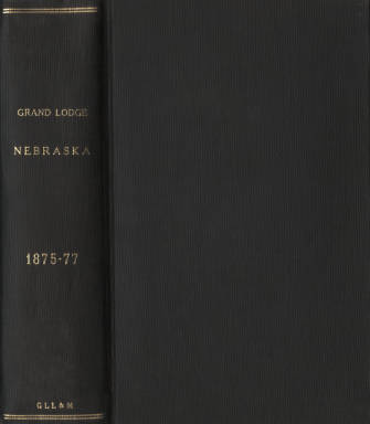 1875-1877 - Proceedings of the Grand Lodge of Nebraska