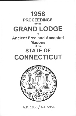 1956 Proceedings of the Grand Lodge of Ancient Free and Accepted Masons of the state of Connecticut
