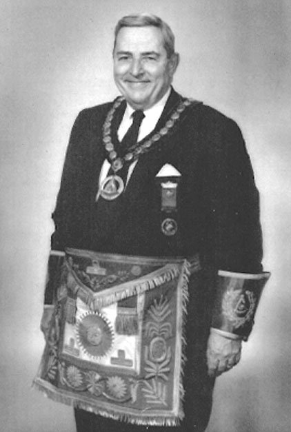PGM -l- 1988; 1989; Roswell T. Swits; Most Worshipful Past Grand Master