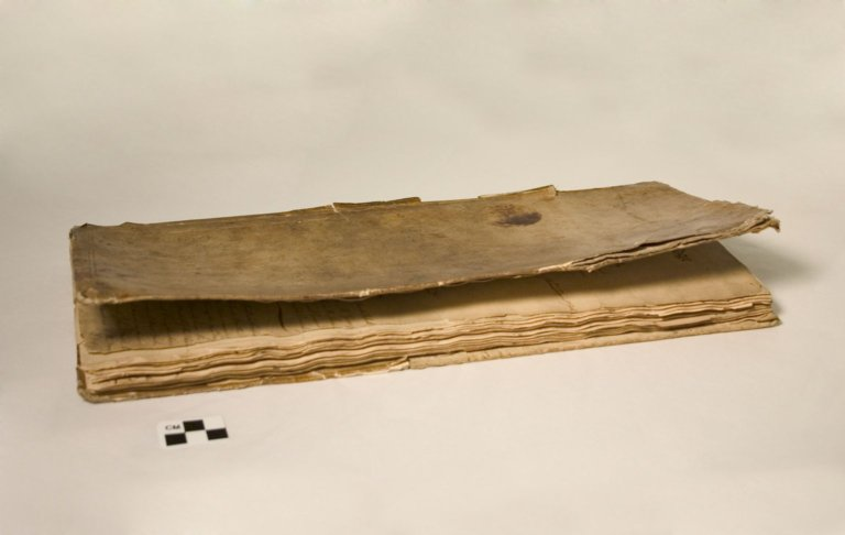 B33-148; Book, Minutes, Solomon's Lodge No. 1, Poughkeepsie, NY and the story of Benedict Arnold.