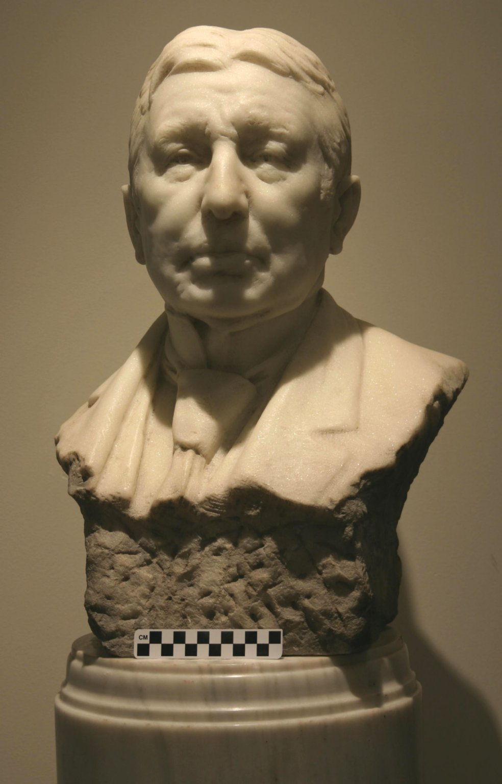 S63-21; Bust, Most Worshipful Edward M. L. Ehlers